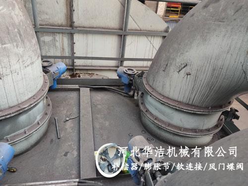 电动烟气挡板门用于钢厂管道